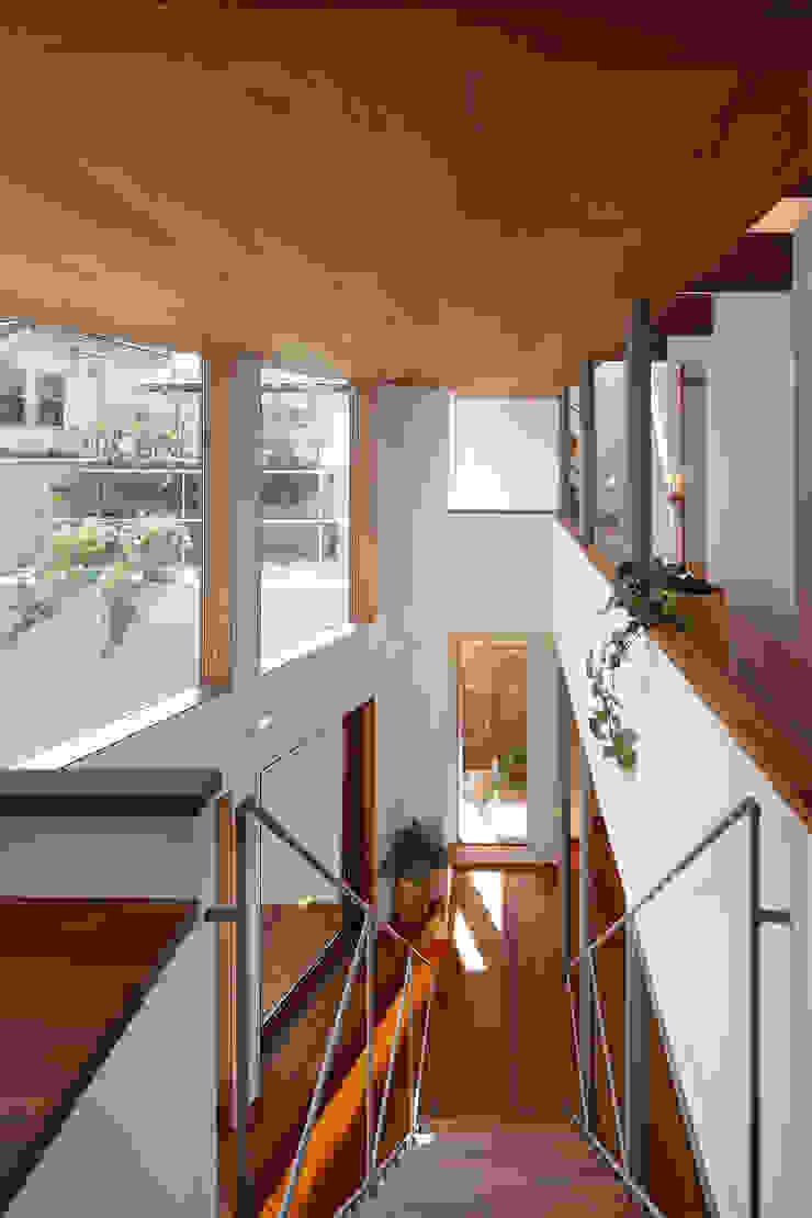 アトリエ スピノザ Ruang Studi/Kantor Modern Kayu Wood effect