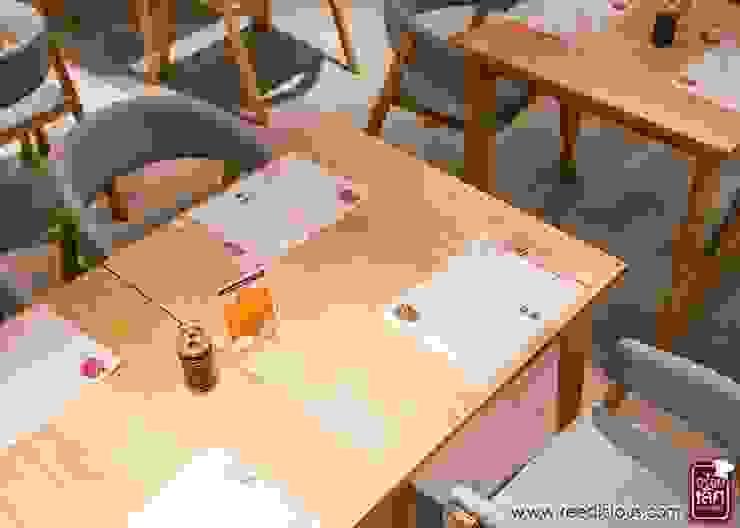 Neta fish and meat @ The street Rachada: เอเชีย  โดย Glam interior- architect co.,ltd, เอเชียน แผ่น MDF