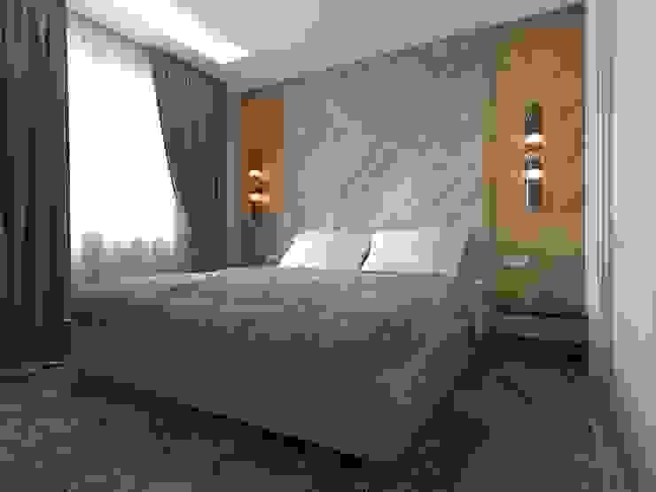 غرفة نوم تنفيذ blackcat design, إسكندينافي
