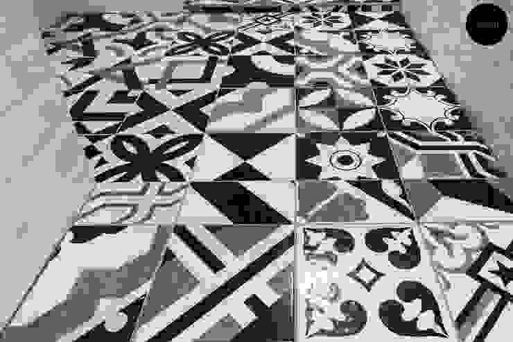Toilet floor by Y&T Pte Ltd Rustic