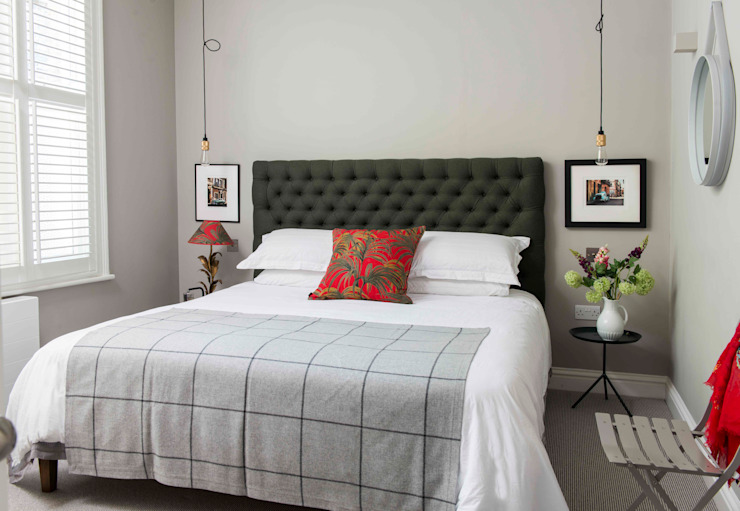 Whitehall Park Residential Camera da letto moderna di SWM Interiors & Sourcing Ltd Moderno