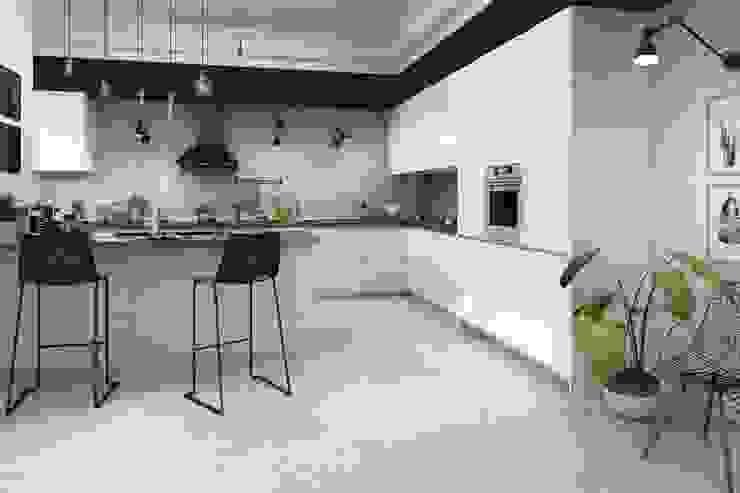 مطبخ تنفيذ Total Tiles,