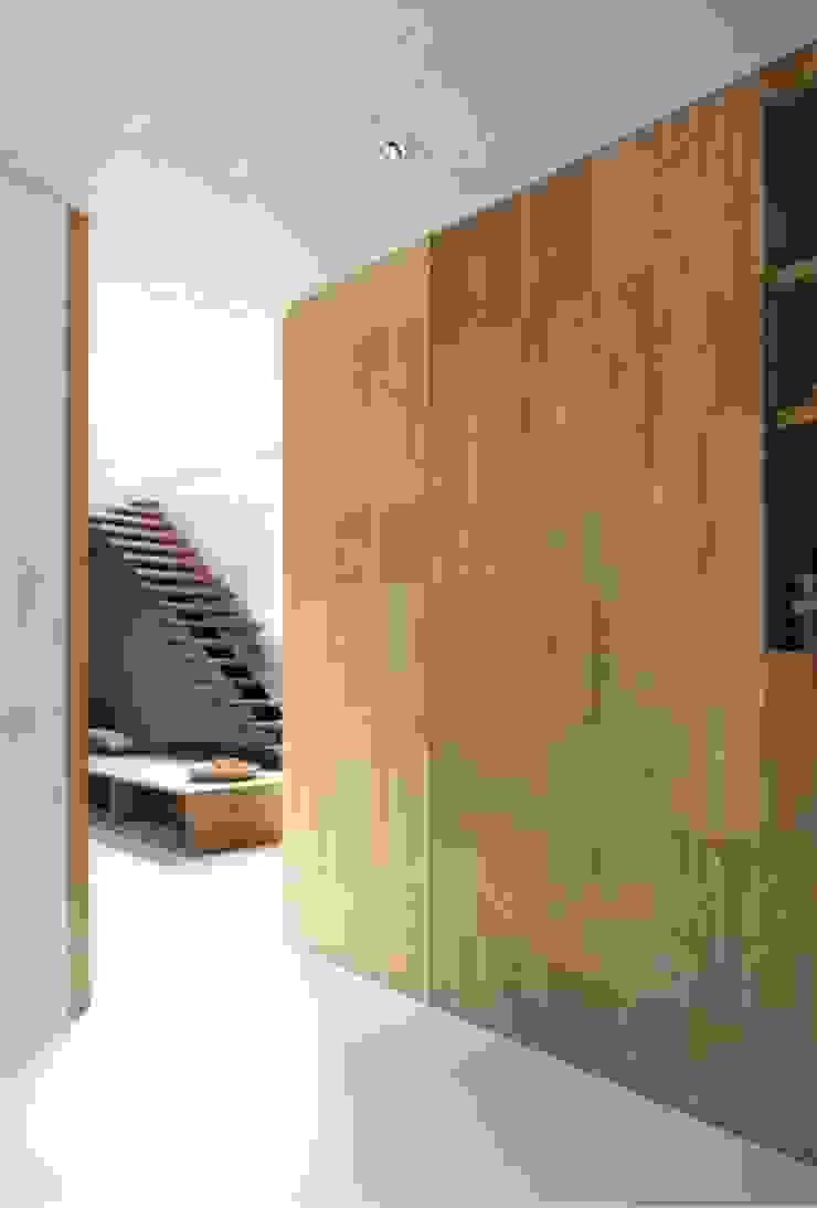 Minimalist bedroom by MULTIPL-X Minimalist Bamboo Green