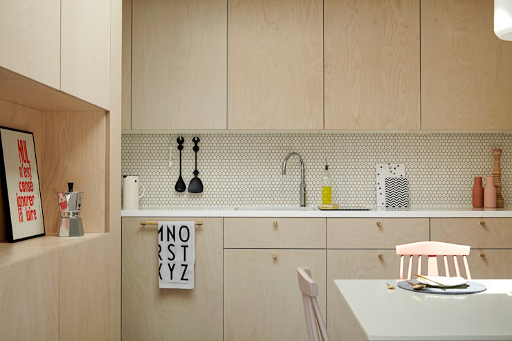 Kitchen by 31/44 Architects, Modern
