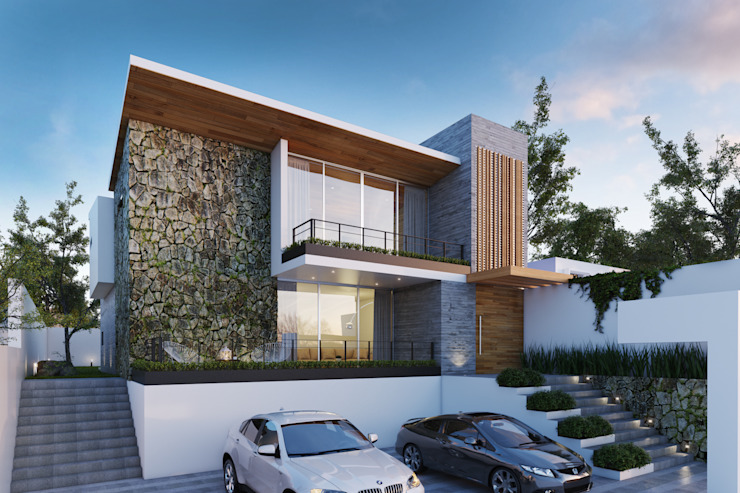 Casas modernas: Ideas, diseños y decoración de homify Moderno Concreto