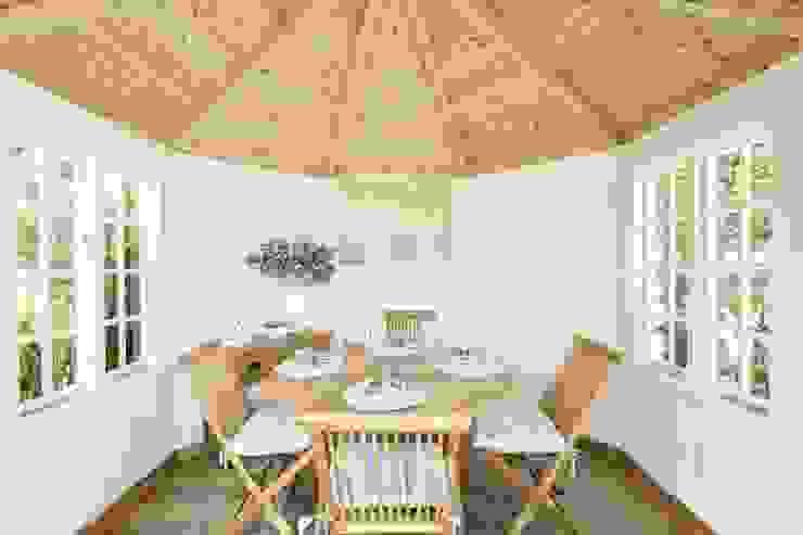 Wiveton Summerhouse Interior de CraneGardenBuildings Clásico