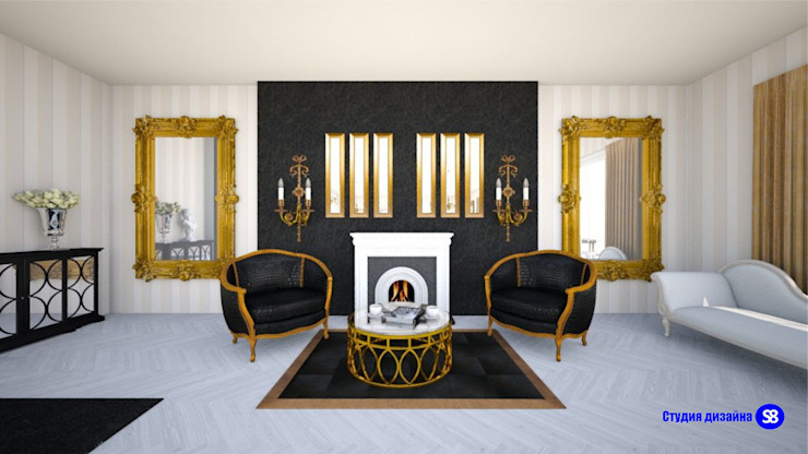 Living Room in Art-Deco style by 'Design studio S-8' Classic