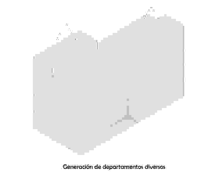 Diagrama 4 Casas minimalistas de HMJ Arquitectura Minimalista