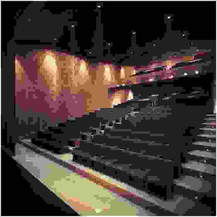 Modern style media rooms by MV Modern Wood Wood effect