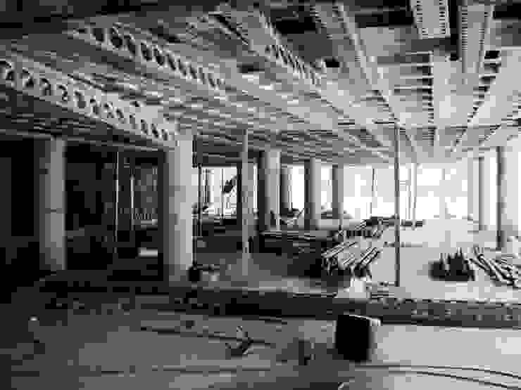 MV Ruang Studi/Kantor Modern Beton