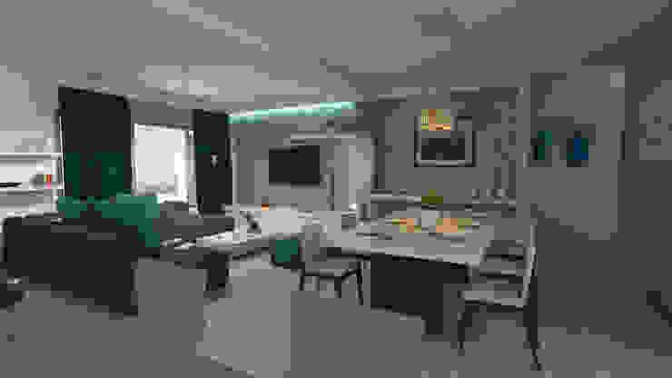 Diseño interior - sala comedor Arquitecto Pablo Restrepo ComedorAccesorios y decoración