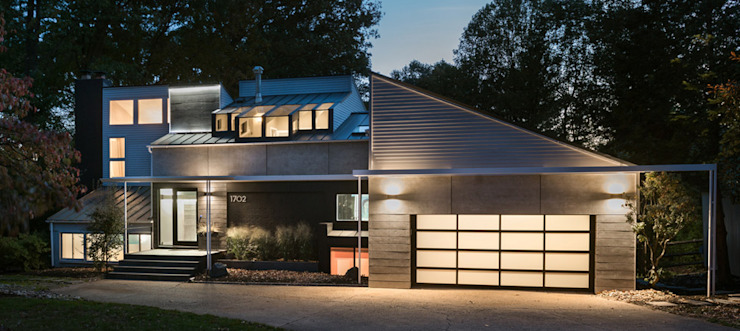 Cache House Modern Houses by KUBE architecture Modern