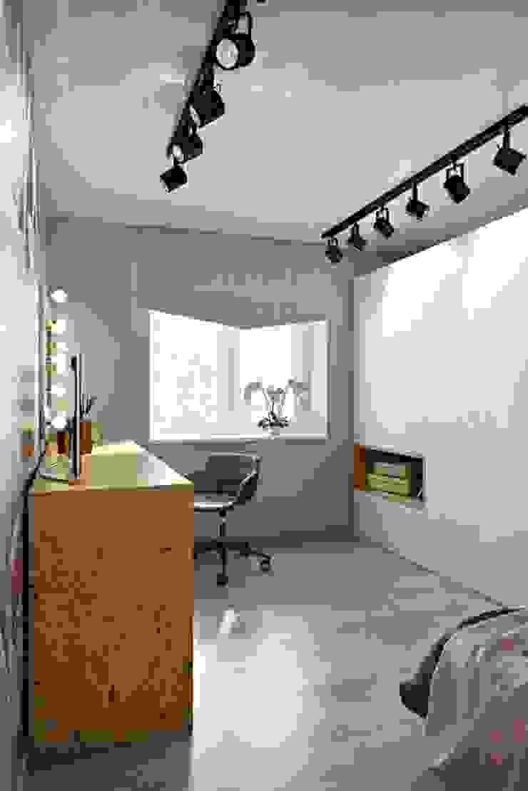Chambre scandinave par Дизайн студия Алёны Чекалиной Scandinave OSB