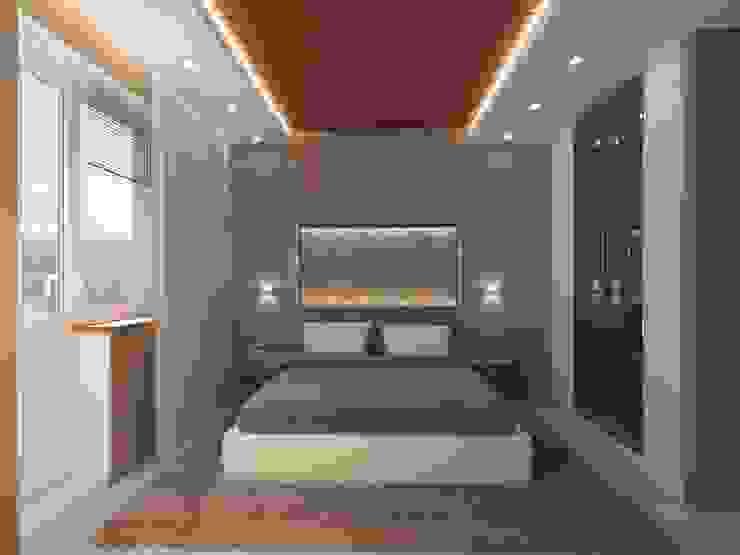 Bedroom Modern Bedroom by Anastasia Yakovleva design studio Modern