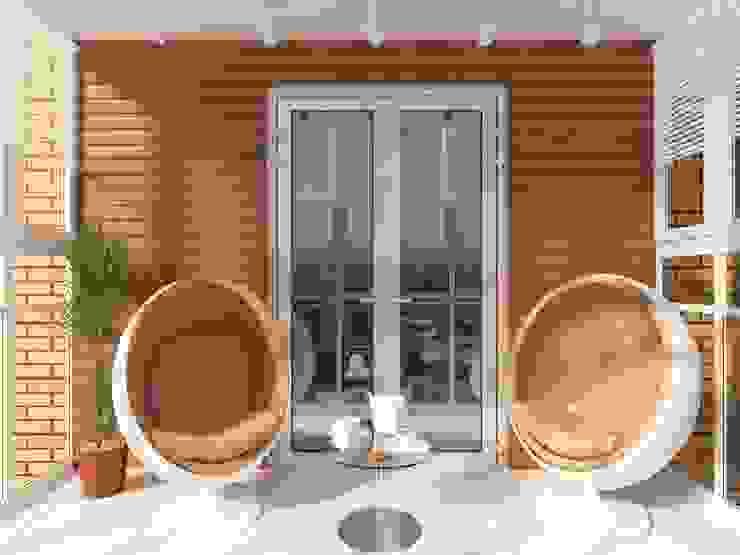 Balcony Modern Terrace by Anastasia Yakovleva design studio Modern