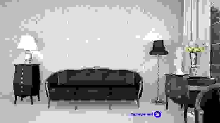 Bedroom in art-deco style Classic style bedroom by 'Design studio S-8' Classic