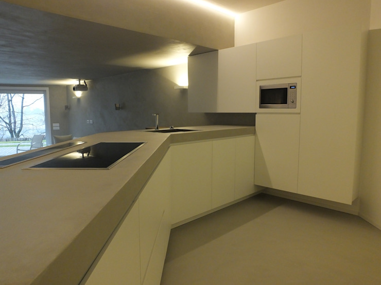 taverna moderna di Frigerio Paolo & C. Moderno Legno Effetto legno