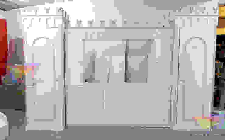 Precioso mueble Opulento de camas y literas infantiles kids world Clásico Derivados de madera Transparente