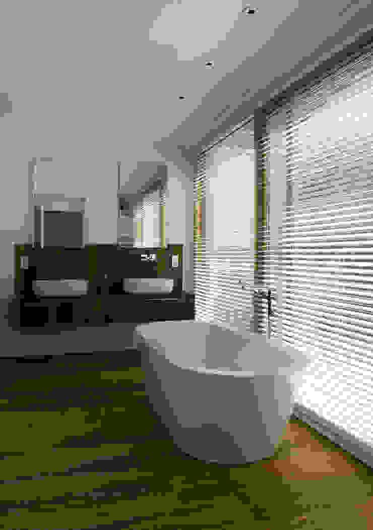 Het Witte Huis Moderne badkamers van WillemsenU Modern