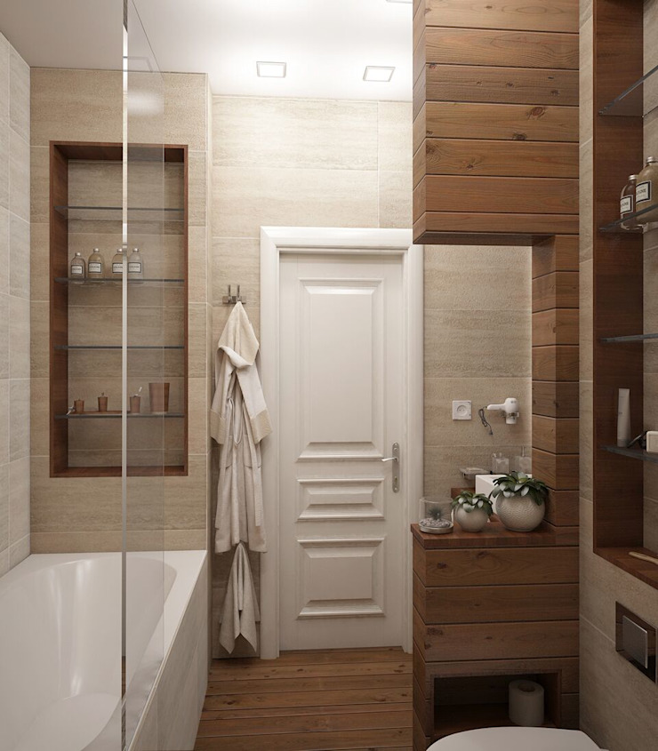 Вира-АртСтрой Scandinavian style bathroom