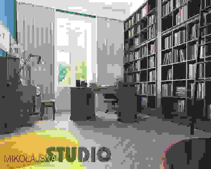 Study/office by MIKOLAJSKAstudio