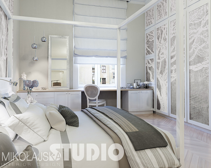 Bedroom by MIKOLAJSKAstudio