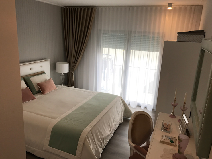 Minimalist bedroom by TC elements® Minimalist