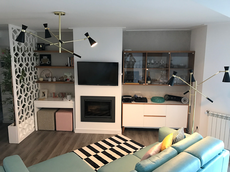 Eclectic style living room by TC elements® Eclectic