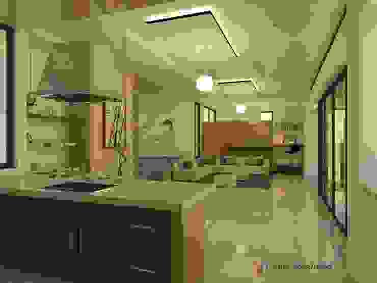 Diseño interior Comedores de estilo moderno de Arquitecto Pablo Restrepo Moderno
