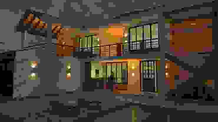 Iluminación exterior Balcones y terrazas de estilo clásico de Arquitecto Pablo Restrepo Clásico