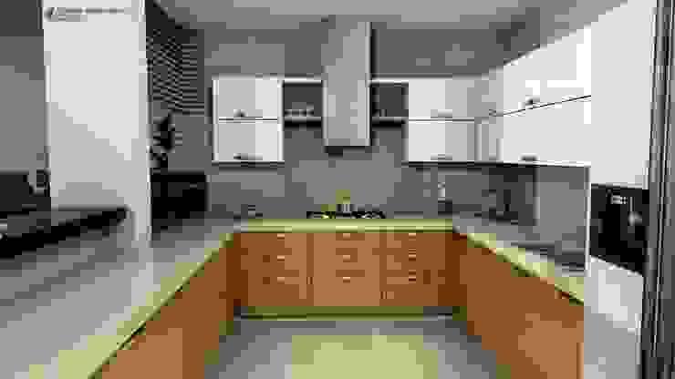 Diseño interior cocina Cocinas de estilo clásico de Arquitecto Pablo Restrepo Clásico