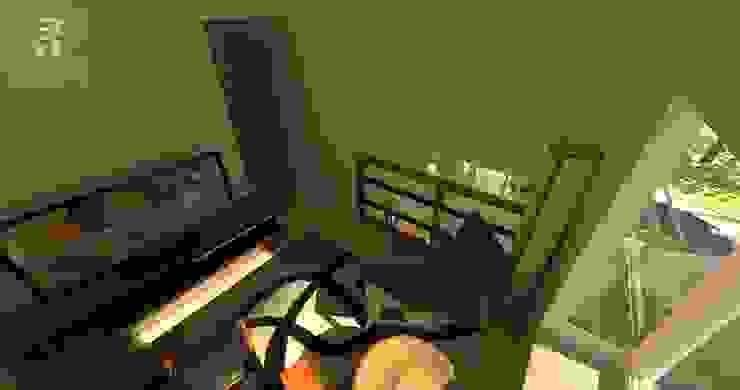Doble altura interior: espacialidad enriquecida Livings de estilo ecléctico de homify Ecléctico