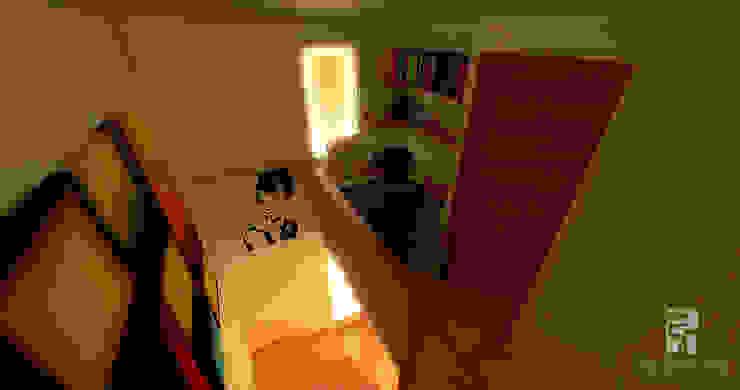 Home office Pasillos, vestíbulos y escaleras de estilo ecléctico de homify Ecléctico