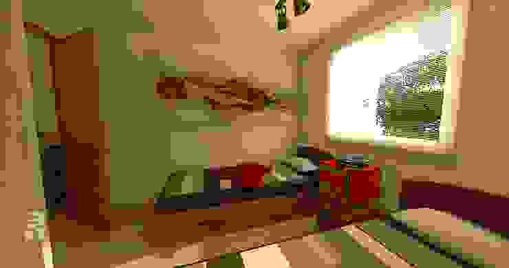 Orientación norte: + luz, + calor en invierno. Dormitorios de estilo ecléctico de homify Ecléctico