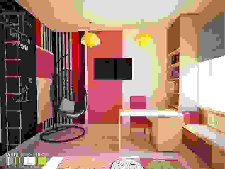 Dormitorios infantiles de estilo  de Мастерская интерьера Юлии Шевелевой,