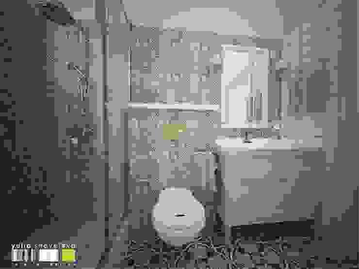 Baños de estilo clásico de Мастерская интерьера Юлии Шевелевой Clásico