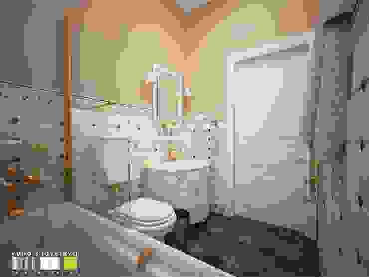 ШАТО ЛЯ РОШ : Ванные комнаты в . Автор – Мастерская интерьера Юлии Шевелевой,