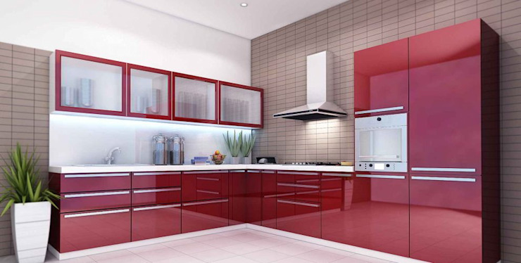 Best Modular & Luxury Kitchen Designs by Plusch Living