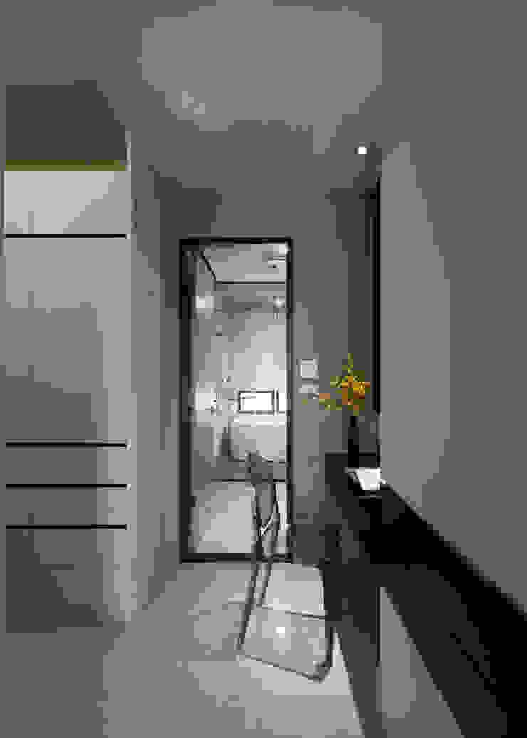 灰與白的律耀 根據 大丘國際空間設計 ABMIDS 現代風