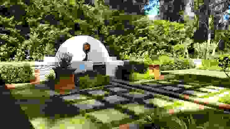 根據 Greenacres Cape landscaping 古典風