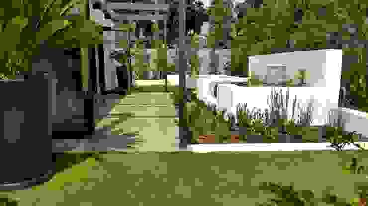 HOUSE 2 Minimalist style garden by Greenacres Cape landscaping Minimalist