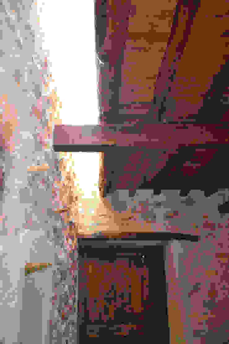 Can Bassó Puertas y ventanas de estilo rústico de AMOMA ARQUITECTURA Rústico