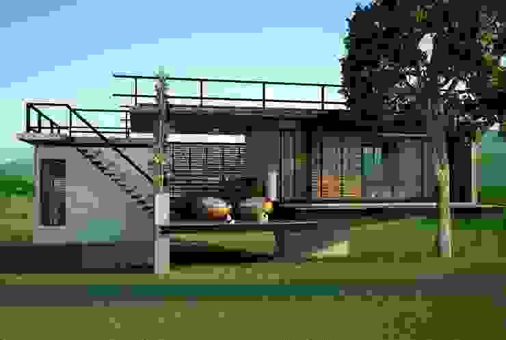 บ้านธรรมชาติโอบกอด LEVEL ARCHITECT บ้านและที่อยู่อาศัย