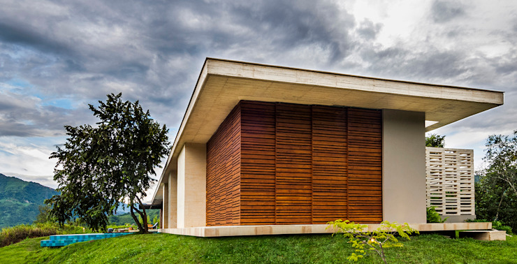 Modern houses by Arquitectura en Estudio Modern Wood Wood effect