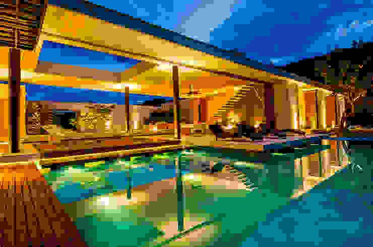 Modern pool by Arquitectura en Estudio Modern Concrete