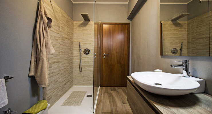 Arkinprogress Baños de estilo moderno