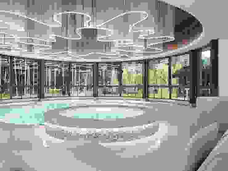 Moderne Pools von Студия дизайна интерьера в Москве 'Юдин и Новиков' Modern