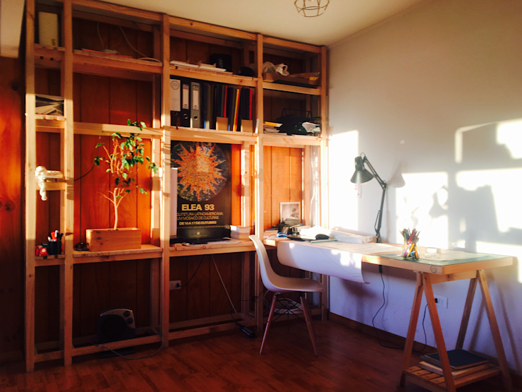 Modulo de trabajo_Oficinas Taller Independiente Arquitectura & Construccion Estudios y despachos modernos de Taller Independiente - Arquitectura & Diseño Moderno Madera Acabado en madera