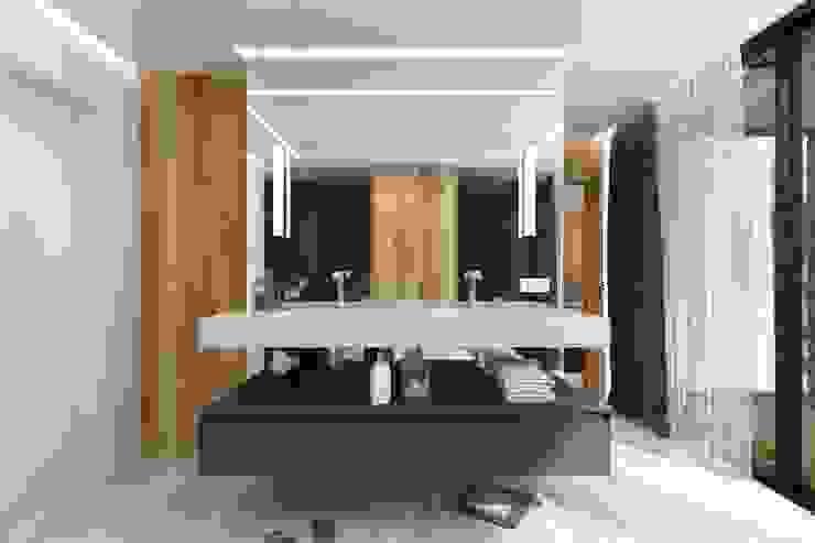 Moderner Spa von Студия дизайна интерьера в Москве 'Юдин и Новиков' Modern