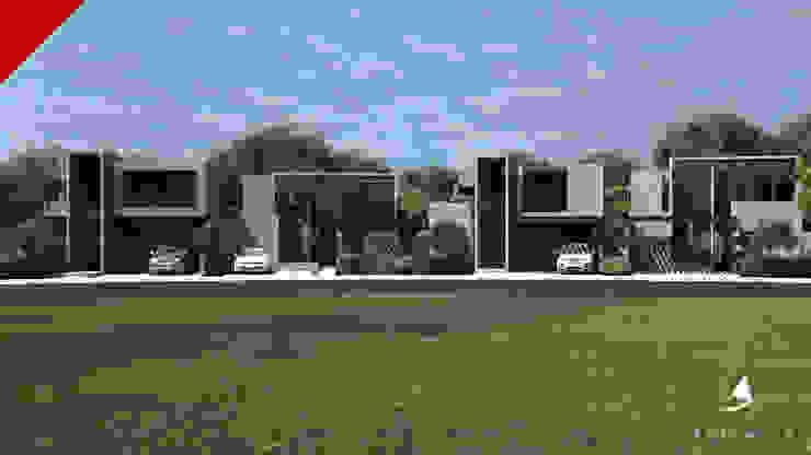 Casas Berlin Garambullo Casas modernas de Tectónico Moderno
